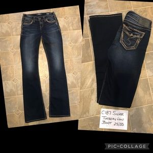 Silver Tuesday Low Boot Jeans Tall